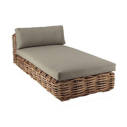 Outdoor Furniture Chaise Longue Rattan Furniture
