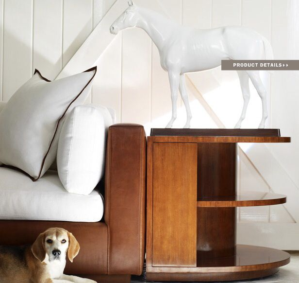 Ralph Lauren Home Modern Equestrian Sofa And End Table Www Simonshouse Net Ralph Lauren Home Wall Coverings House Styles