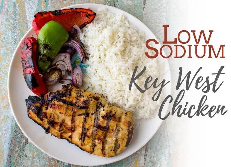 Low Sodium Key West Chicken Sodium Optional Low Sodium Recipes Recipe Heart Healthy Recipes Low Sodium Chicken Recipes Low Sodium Low Sodium Recipes