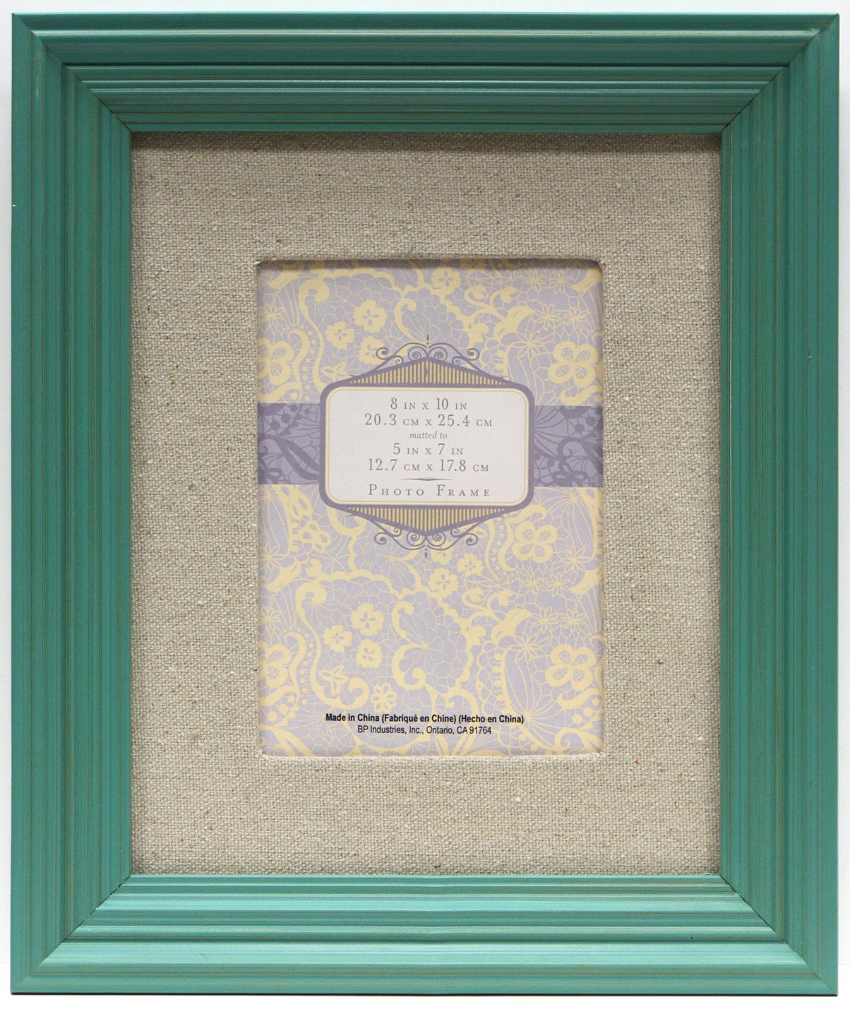 8X10 Mat To 5X7 Step Bright Teal Frame | getting crafty | Pinterest ...