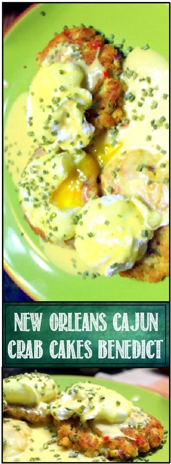 OH BOY!!! Crab Cakes! But not just any Crab Cakes... These are Cajun spiced, New Orleans style (more on that in a second), but best ... #cajundishes