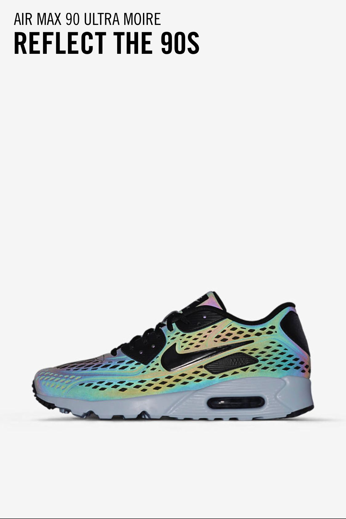 Air Max 90 Ultra Moire Iridescent pinhilary baumann on style files  air max sneakers
