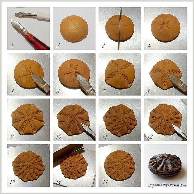 Texture Simple And Easy In 2019 Polymer Clay Tutorials