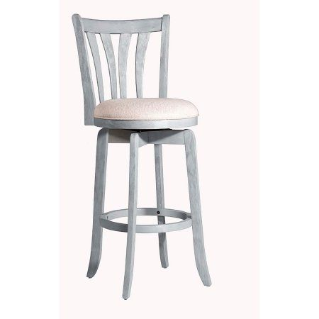Astounding Hillsdale Furniture Savana Swivel Counter Stool Blue In Caraccident5 Cool Chair Designs And Ideas Caraccident5Info
