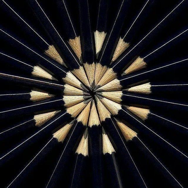 #pencil #matite #buonlavoro #design #designdautore #circle #instatop
