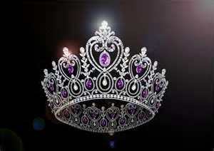 foto de PURPLE queen crown Purple crown Beautiful tiaras Royal jewelry