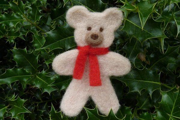 Atelier ours en laine card e sur le salon cr ations et savoir faire laine feutree pinterest - Salon creation et savoir faire billet gratuit ...