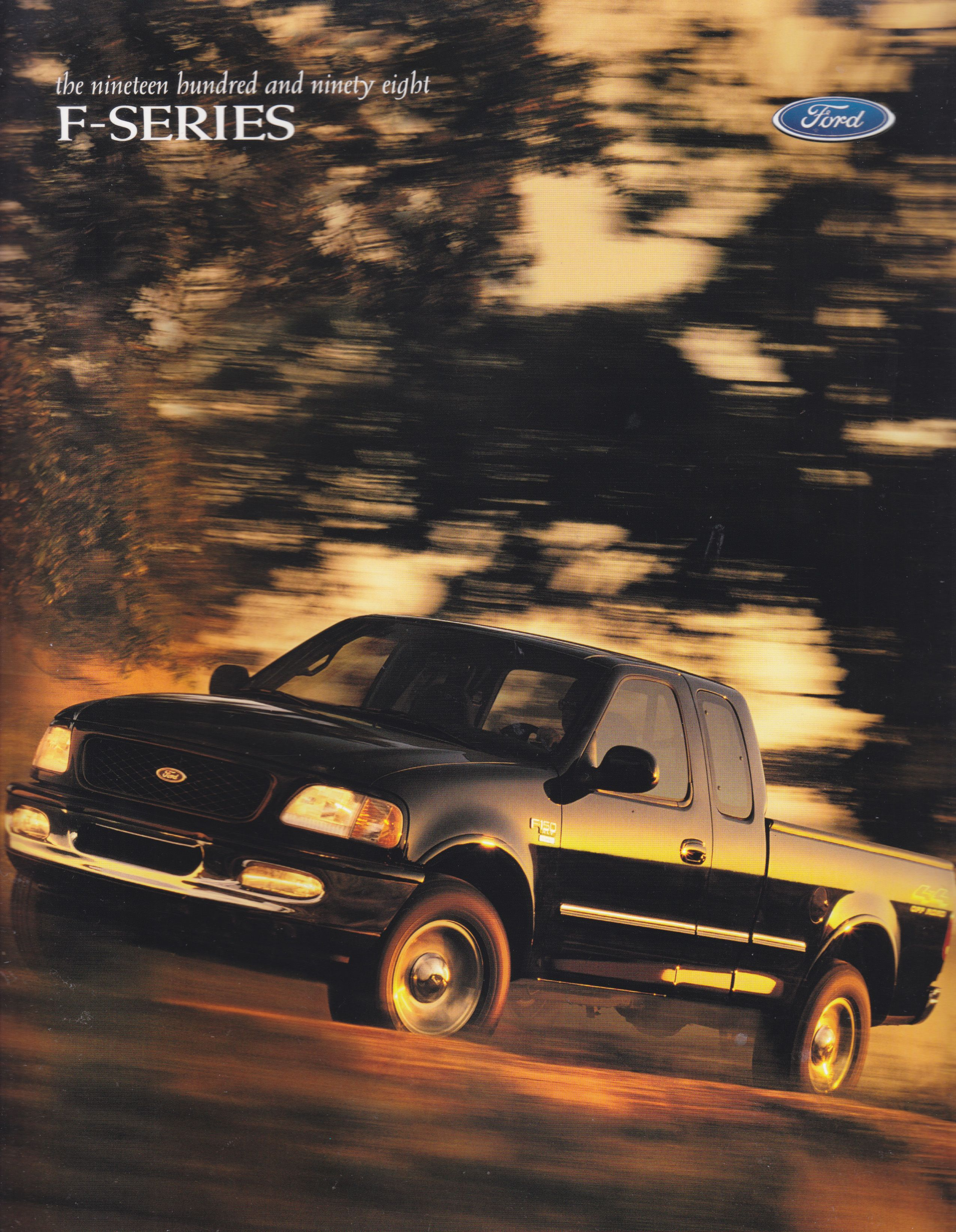 Ford F Series Pick Ups Sales Brochure Usa 1998 In 2020 Sales Brochures Pickup Trucks Ford F150