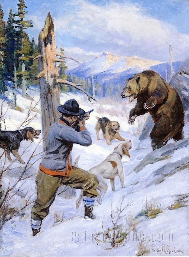 телефону картинка охота на медведя с собаками для жизни