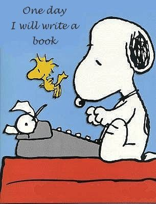 One day I will write a book
