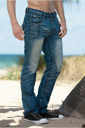 V I P Collection Vulture Mens Jeans Undergear Mens Outfits Designer Jeans Denim Art