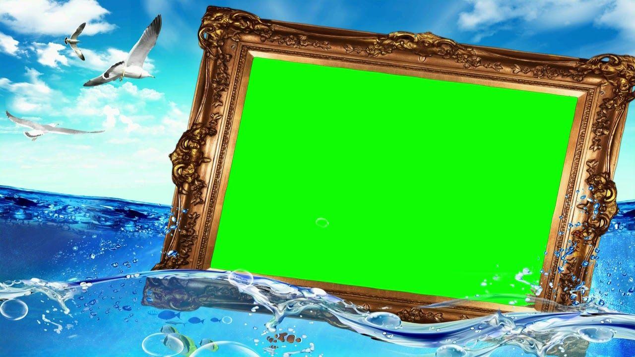 Wedding Video Background Green Screen Sea Water, Chroma
