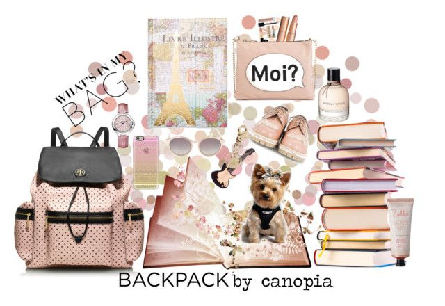 """Back to School"" by canopia ❤ liked on Polyvore featuring Tri-coastal Design, Tory Burch, Bottega Veneta, Linda Farrow, Attilio Giusti Leombruni, M&S, See by Chloé, Casetify, Cartier and Zoella Beauty"