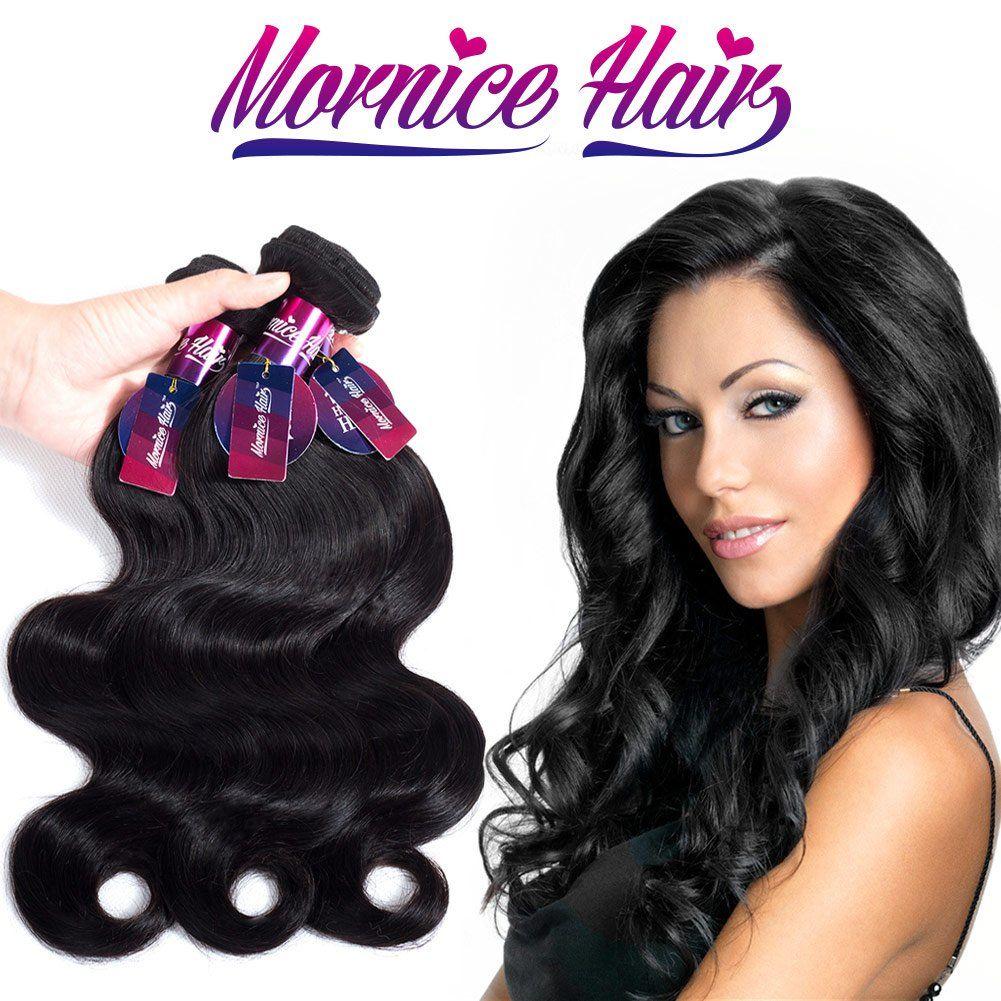 Mornice Hair 10a Brazilian Virgin Hair Body Wave 3 Bundles 22 100