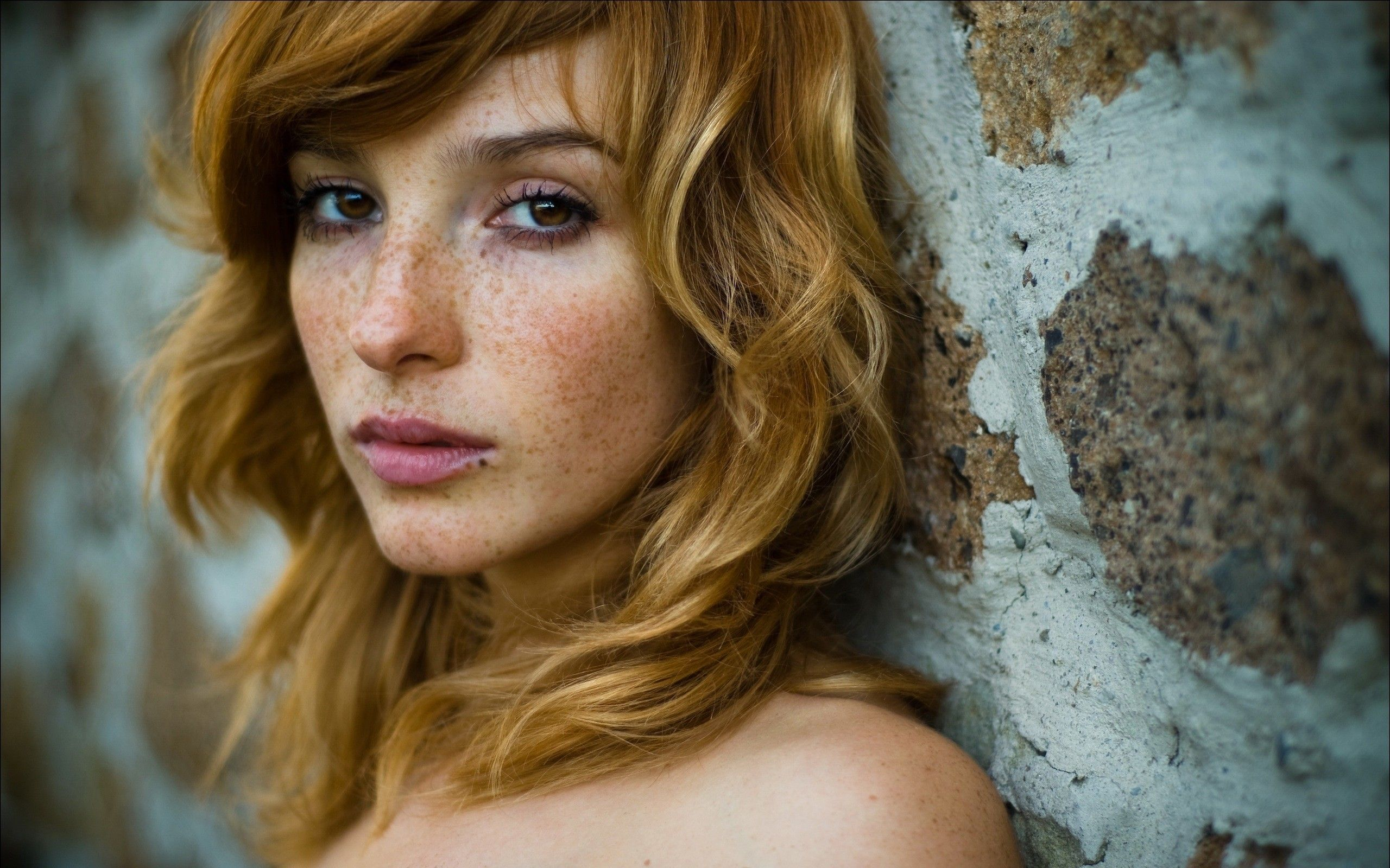 Vica Kerekes Red Hair Freckles Face Model Actress Wallpaper And Background Freckles Girl Red Hair Red Hair Freckles