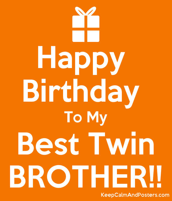 Happy Birthday Twin Brothers Images Archidev