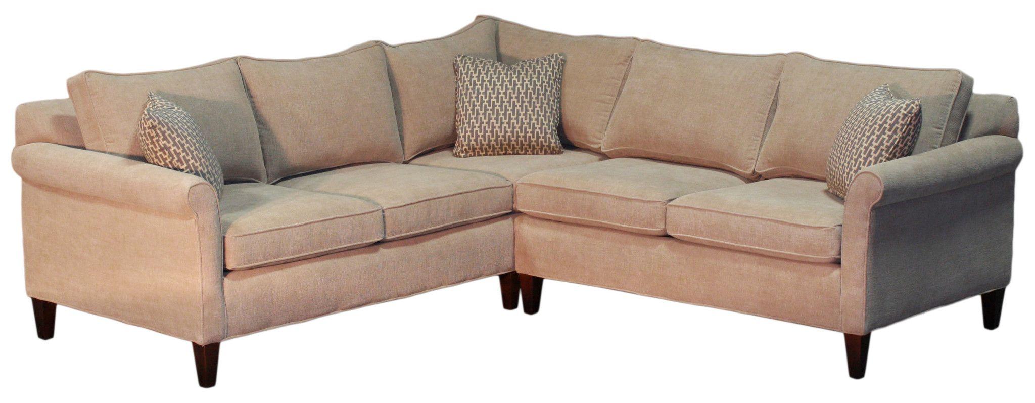 Compact Non Toxic Oscar Sectional 2 Endicott Home Furnishings