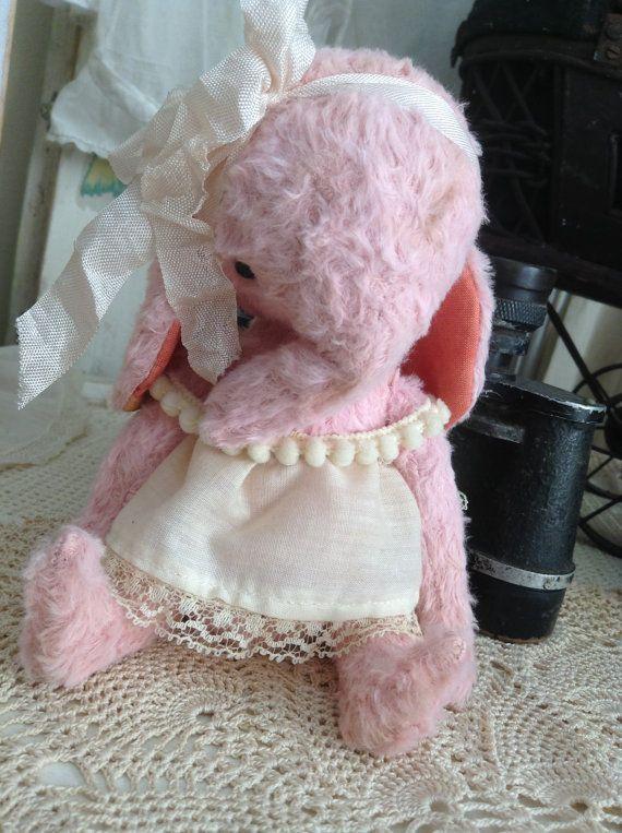 Handmade Vintage style whimsical pink by olivegroveprimitives, $95.00