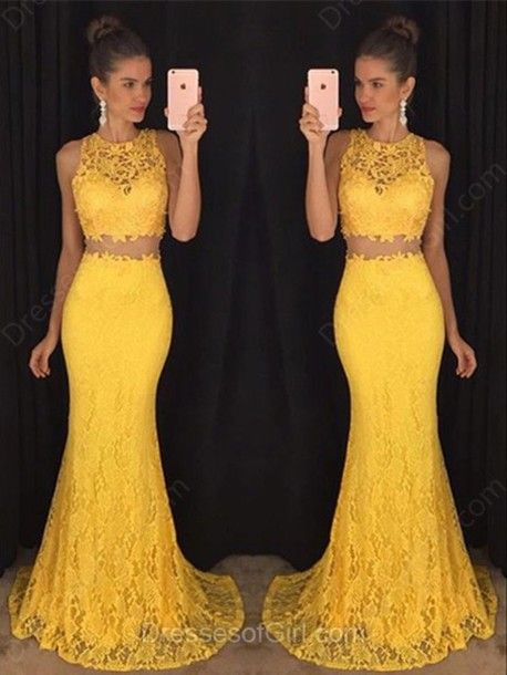 2 Piece Prom Gown 06b062a94b