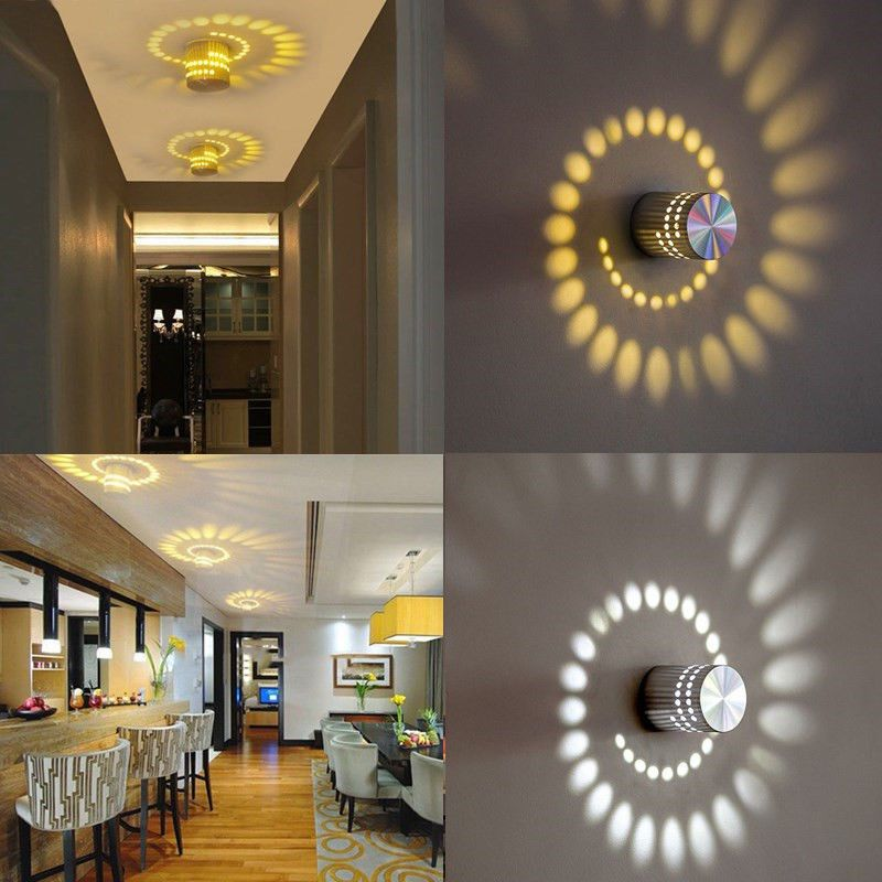 Excellent 3W Led Home Wall Light Spot Lighting Lamp Bedroom Hotel Download Free Architecture Designs Momecebritishbridgeorg