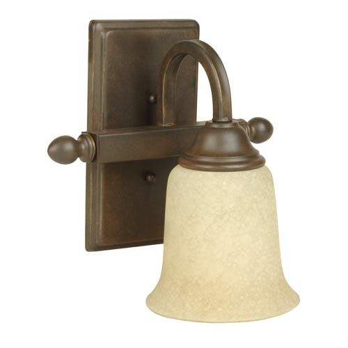 Photo of Craftmade Madison Aged Bronze One Light Bath Fixture 15209ag1 | Bellacor