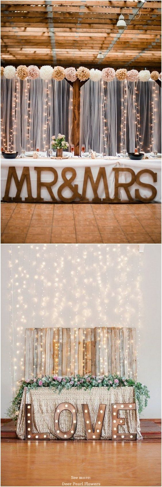 Top 20 Rustic Country Wedding Sweetheart Table Ideas Eskvi