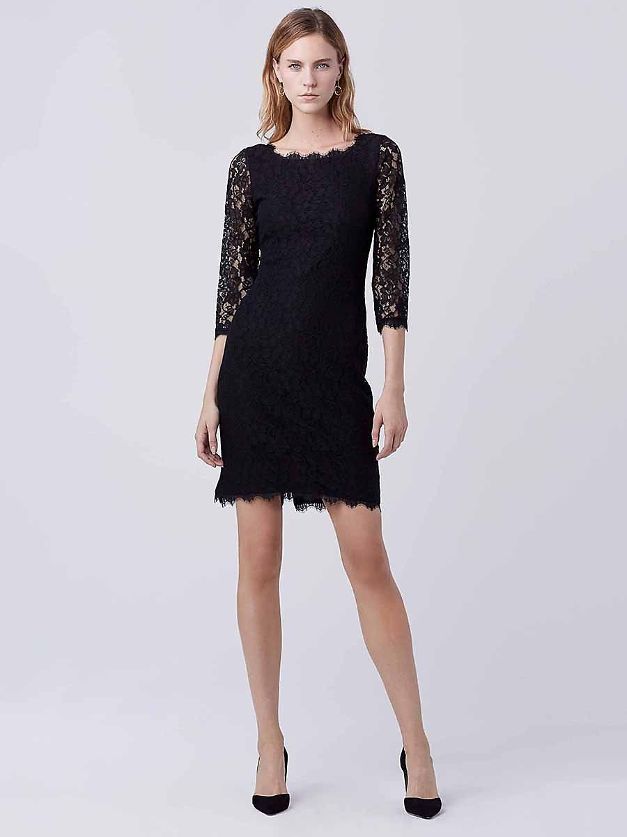 Zarita long lace dress in black stuff pinterest lace dress