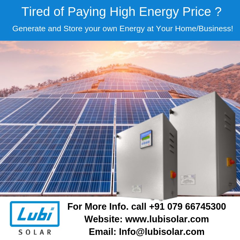 High Efficient Lubi Solar Panel Contact For Commercial Residential Projects 91 079 66745300 Info Lubisolar Com Solar Solar Panels Solar Power Panels