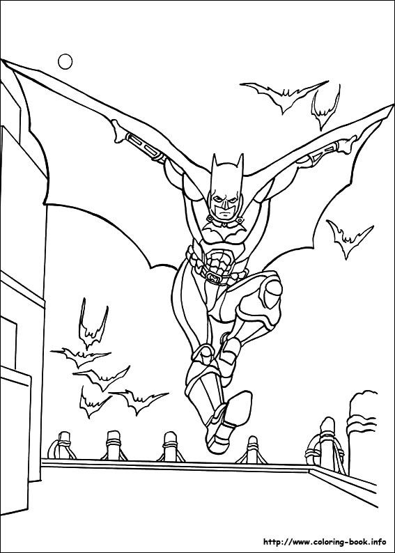 And Perfect For A Batman Fan On Rainy Afternoon Coloring Picture From Book
