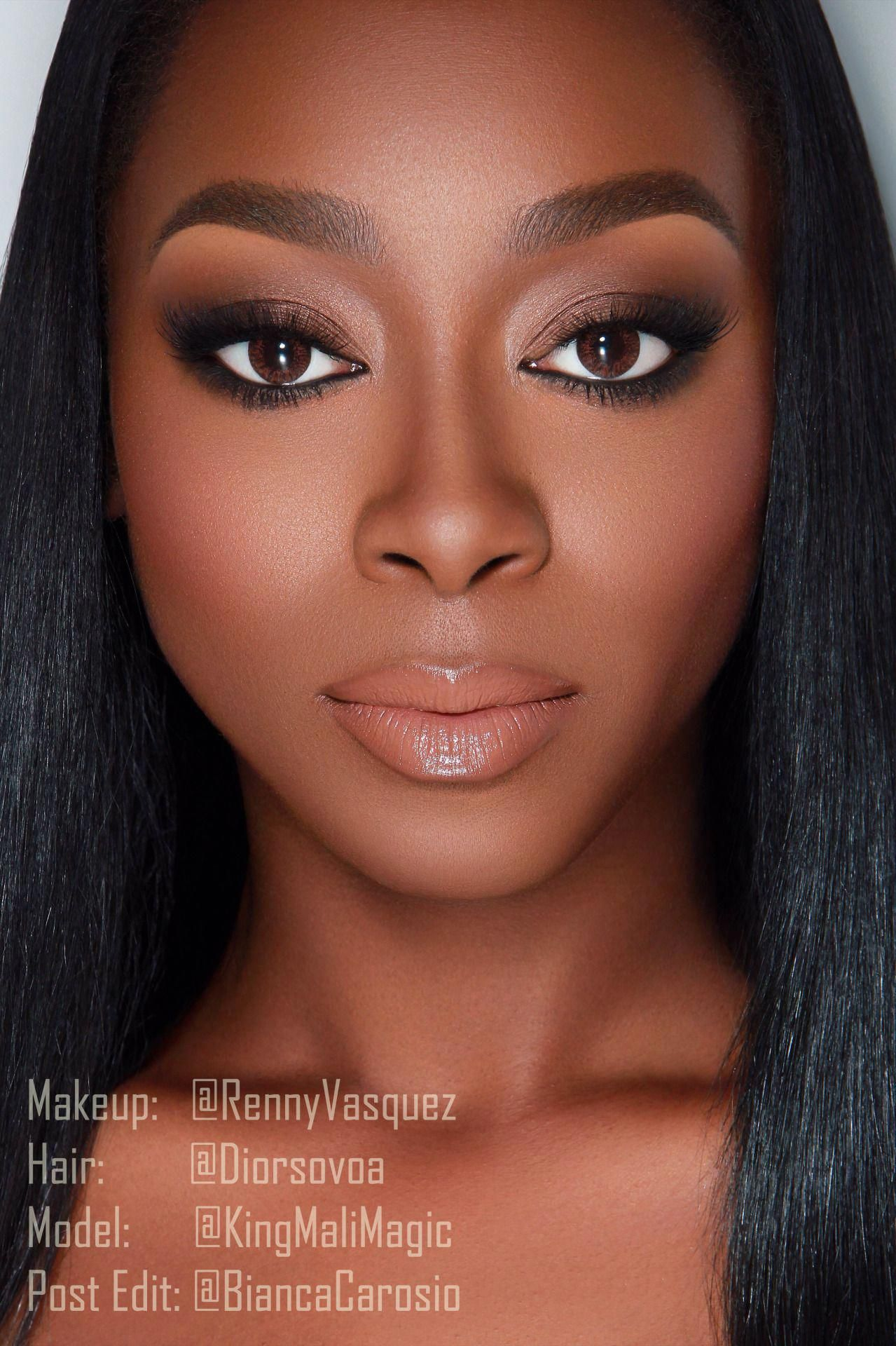 makeup for black BlackwomensMakeup Dark skin