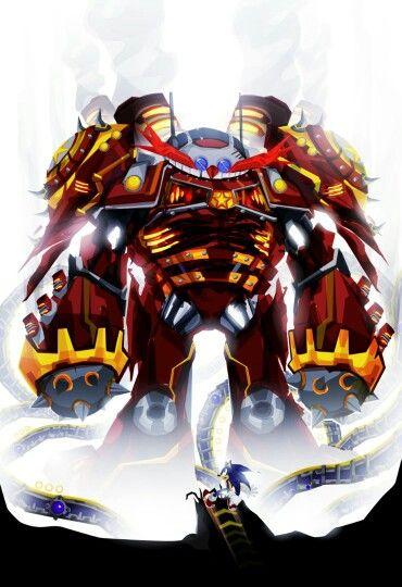 Giant Eggman Sonic Fan Art Sonic Super Mario Art