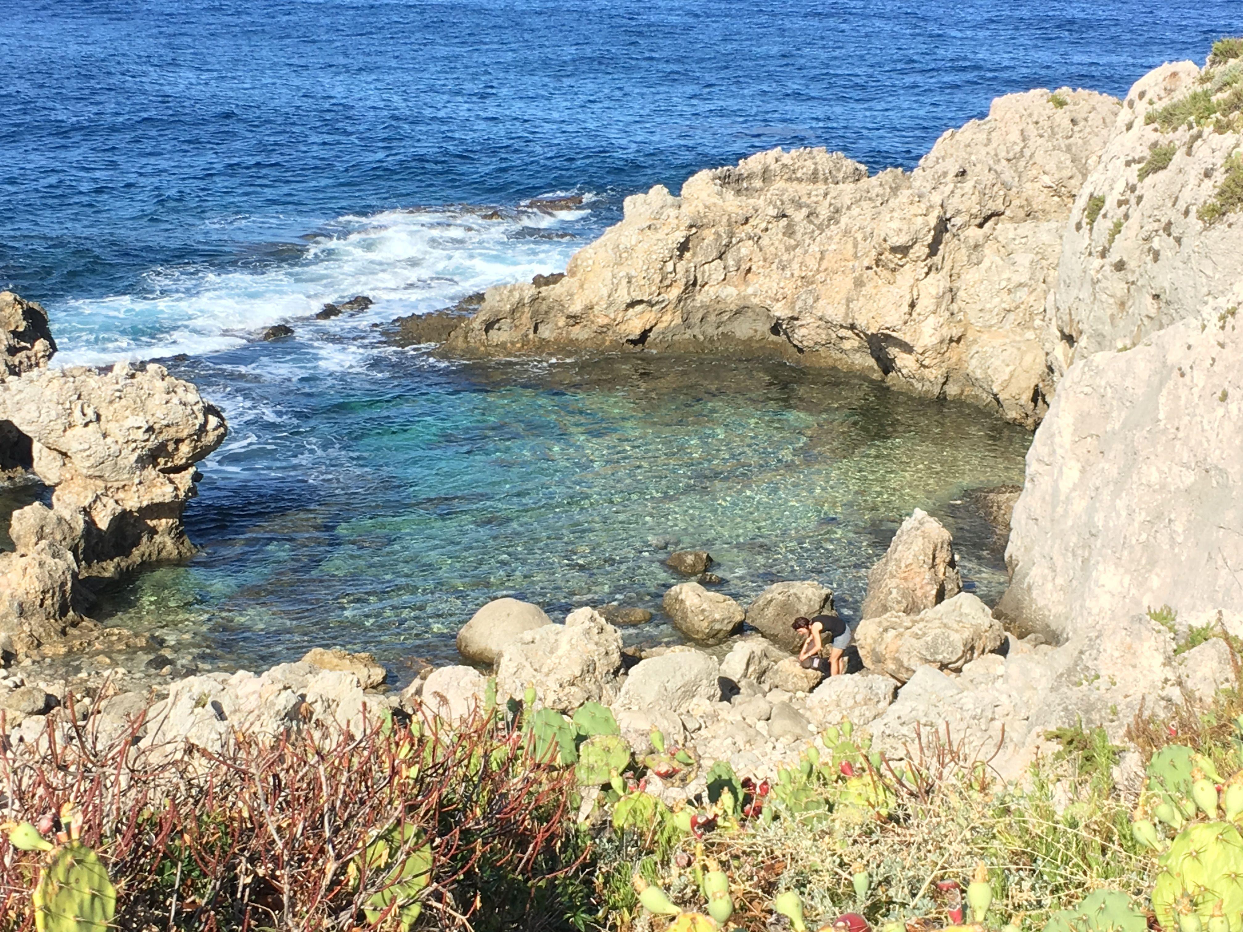Piscina di Venere  Milazzo Sicily  Italy  Travel