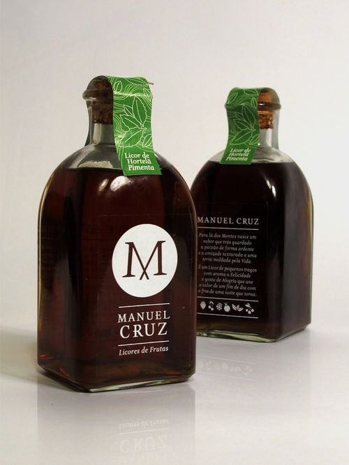 Manuel Cruz- Fruit Liquor.  These are Fruit Liqueurs From the region os Trás-os-Montes - Portugal, this is a homemade liqueur that brings together the passion and happiness of a special land made by a special man.