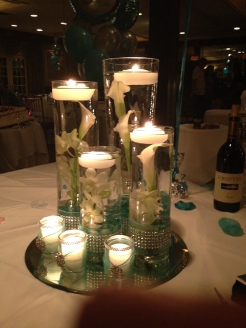 Beautiful Centerpiece For My Daughter S Engagement Party Engagement Party Centerpieces Engagement Party Centerpieces