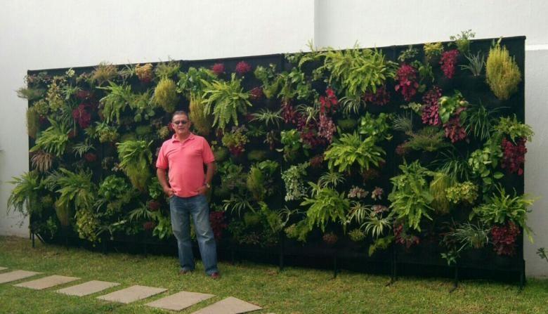 jardines verticales interiores - Buscar con Google Balcones