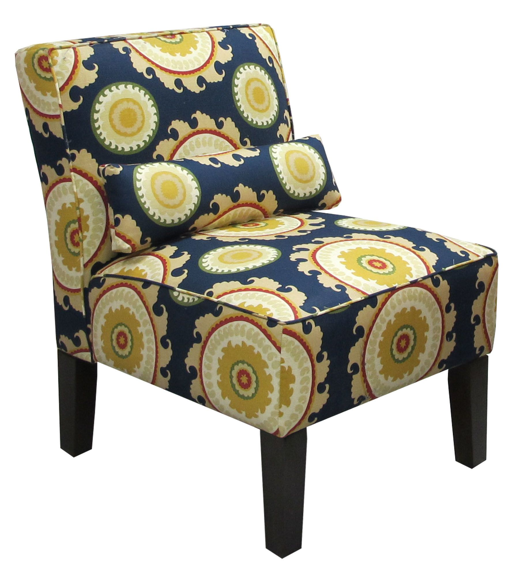 Skyline Furniture Upholstered Fabric Slipper Chair