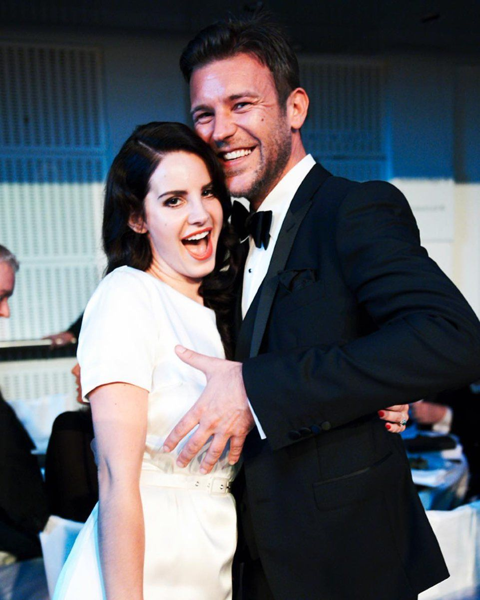 Lana with Paul Solomons at 'GQ Men Of The Year Awards' (2012)