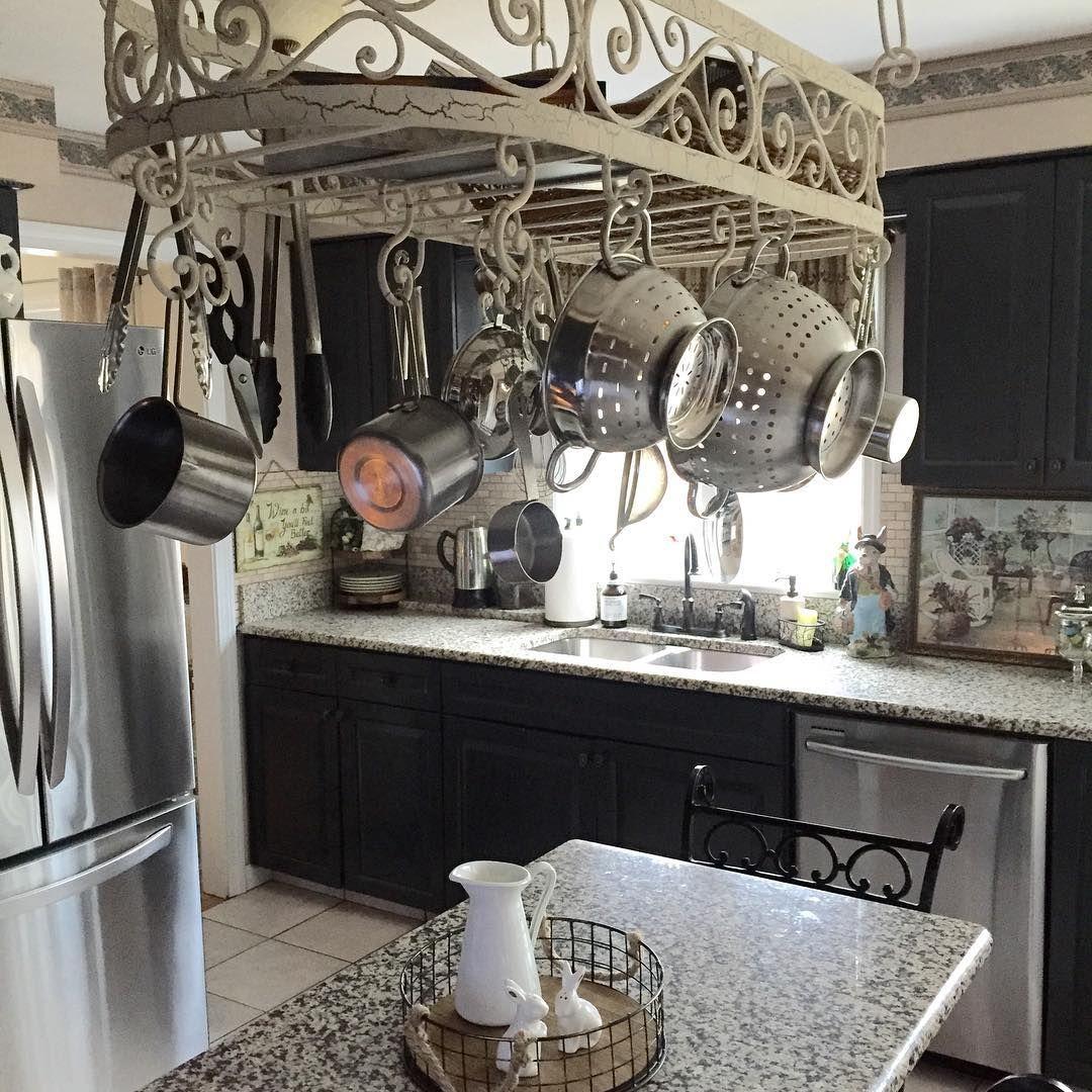 Best Placing Low Ceiling Pot Rack For Your Kitchen Ideas Pot