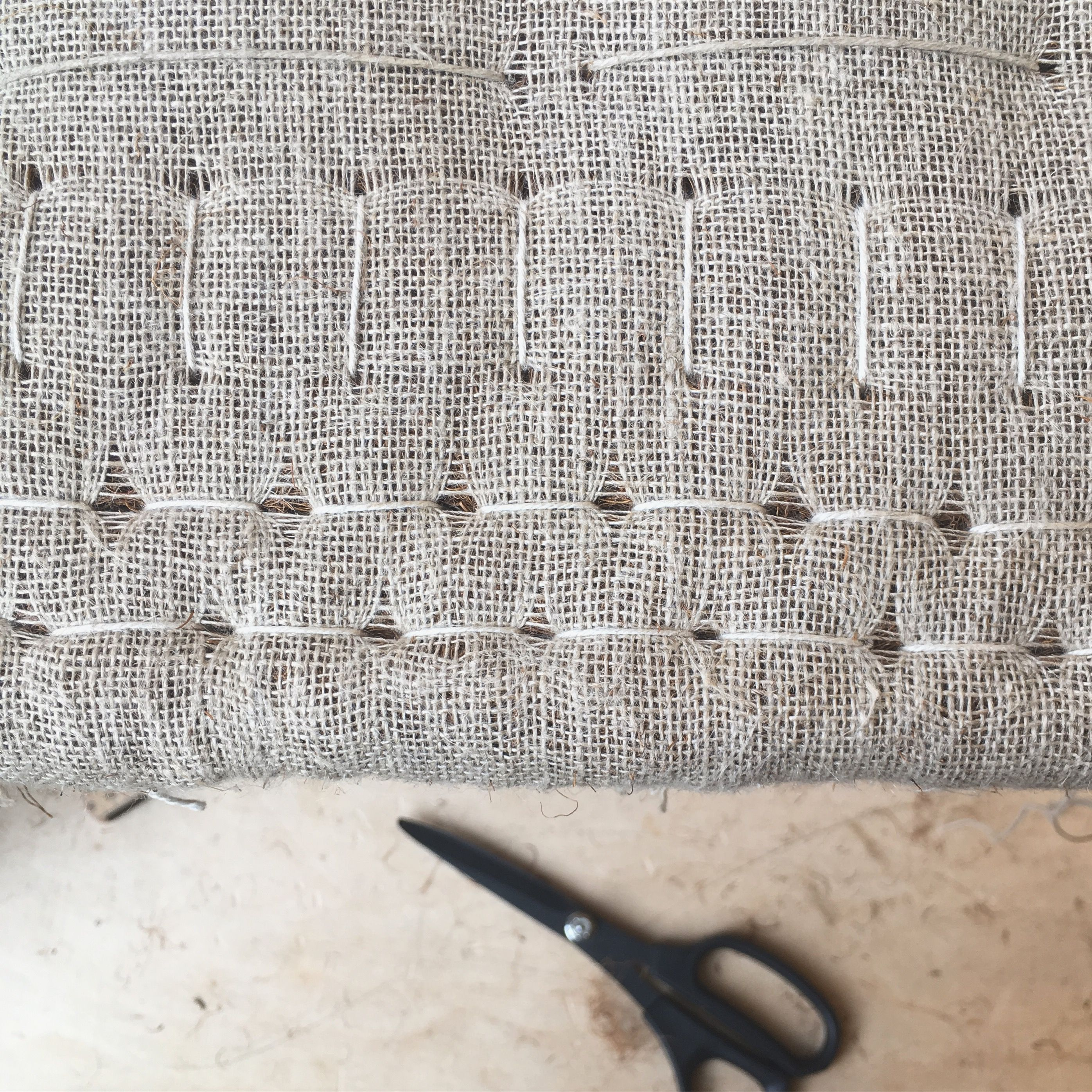 Upholstery, first padding