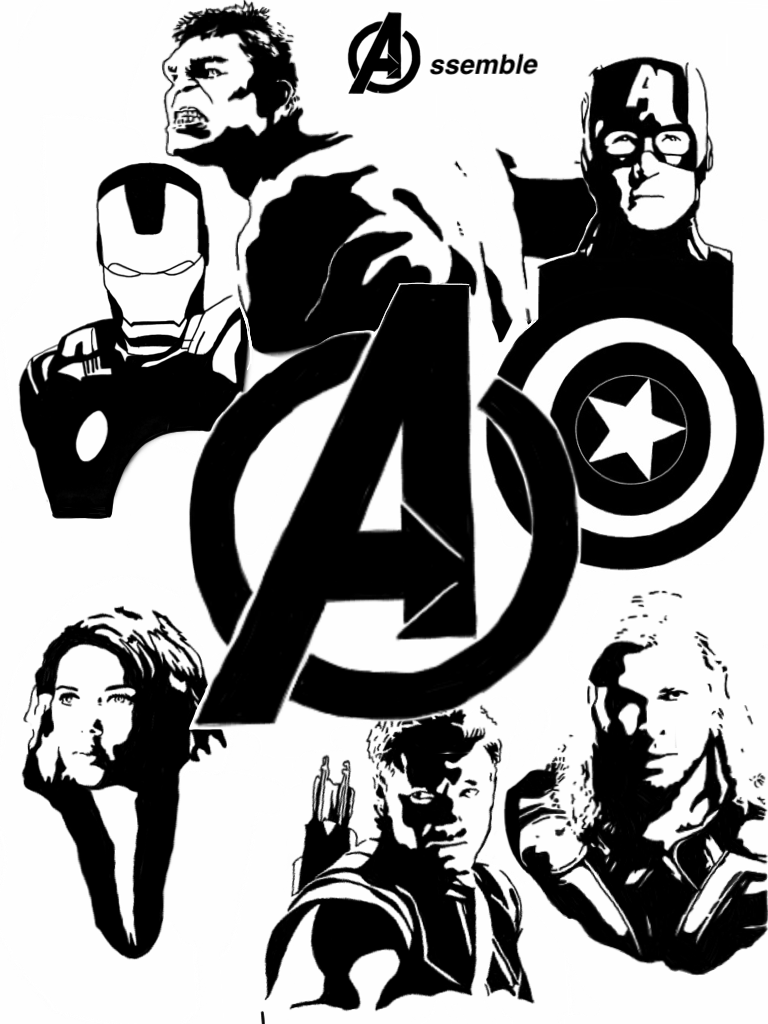 Avengers Assemble by MrSaxon on DeviantArt Мстители