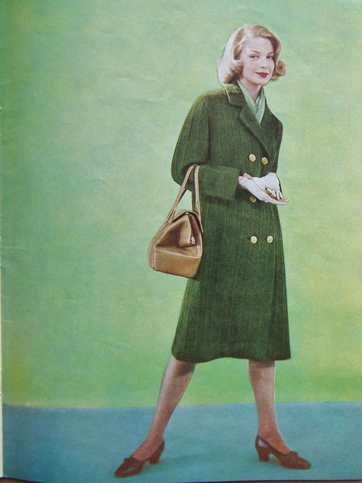 Vintage 50s VOGUE KNITTING No 55 original patterns book women\'s ...