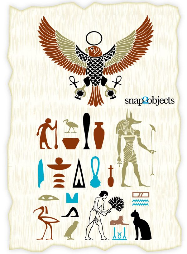 free vector ancient egyptian symbols free vectors