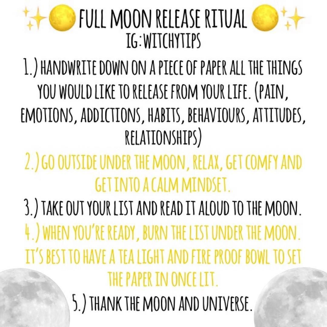 A Super Easy And Fun Ritual Idea You Can Do This Full Moon