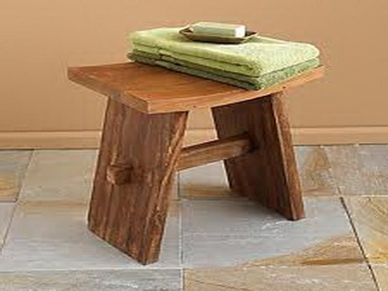 Bathroom Bench For Safety Usage By Clare Rich Teak Shower