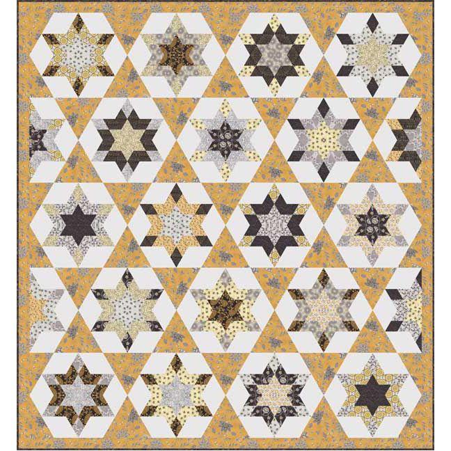 Moda Fabrics Bee Creative by Deb Strain Bee Creative Quilt Pattern ... : creative quilting ideas - Adamdwight.com