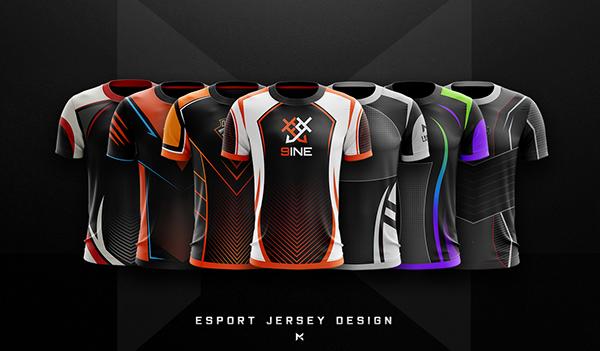 Download Jersey Esport Team Mockup On Behance In 2020 Sports Jersey Design Sport Shirt Design Jersey Design