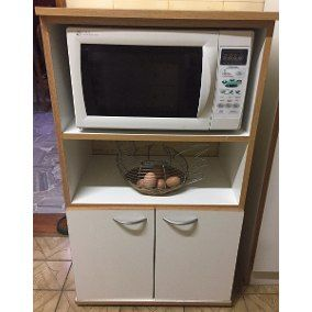 Mueble de cocina organizador para microondas horno for Hornos de cocina electricos