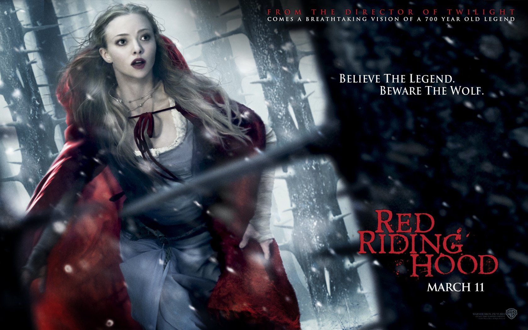 Horror Movie Red Riding Hood 2011 With Images Red Riding Hood