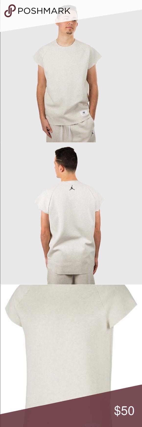 632f41f342b584 Nike Russell Westbrook Jordan Fleece Top Men s Jordan Sportswear x RW  Fleece Short-Sleeve Top