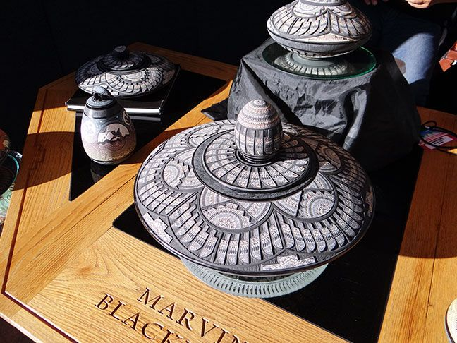 "Marvin Blackmore Pottery. His Mission: ""To create the most complex intricate pottery the world has ever seen."""